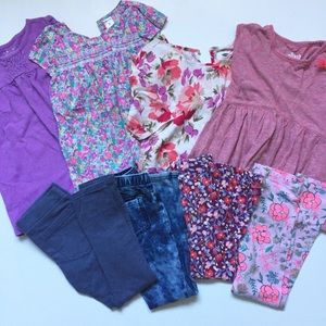 Girls 5T outfit lot Pants & Tops